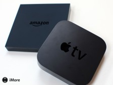 Amazon's new Fire TV and Apple TV
