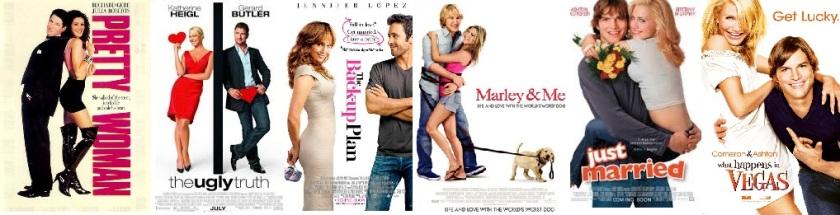 Girl + Guy + Whitebackground = Predicable box office revenue