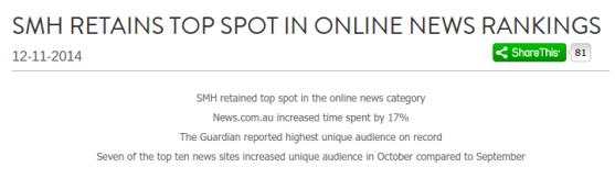 Nielsen Fairfax News